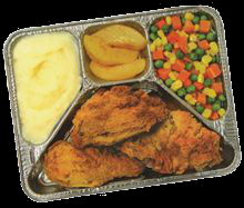 pic of TV dinner